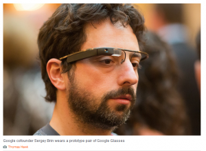 Sergey Brin - Google Glasses