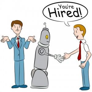 robot stealing jobs